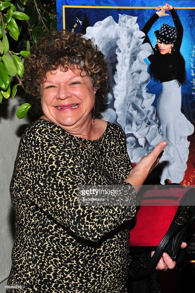 Actress Mary Pat Gleason arrives at the premiere of 'Kumpania: Flemenco Los Angeles' at El Cid on January 31, 2013 in Los Angeles, California.