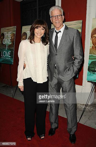 Actress Mary Steenburgen and actor Ted Danson attend the premiere of 'The One I Love' at the Vista Theatre on August 7 2014 in Los Angeles California