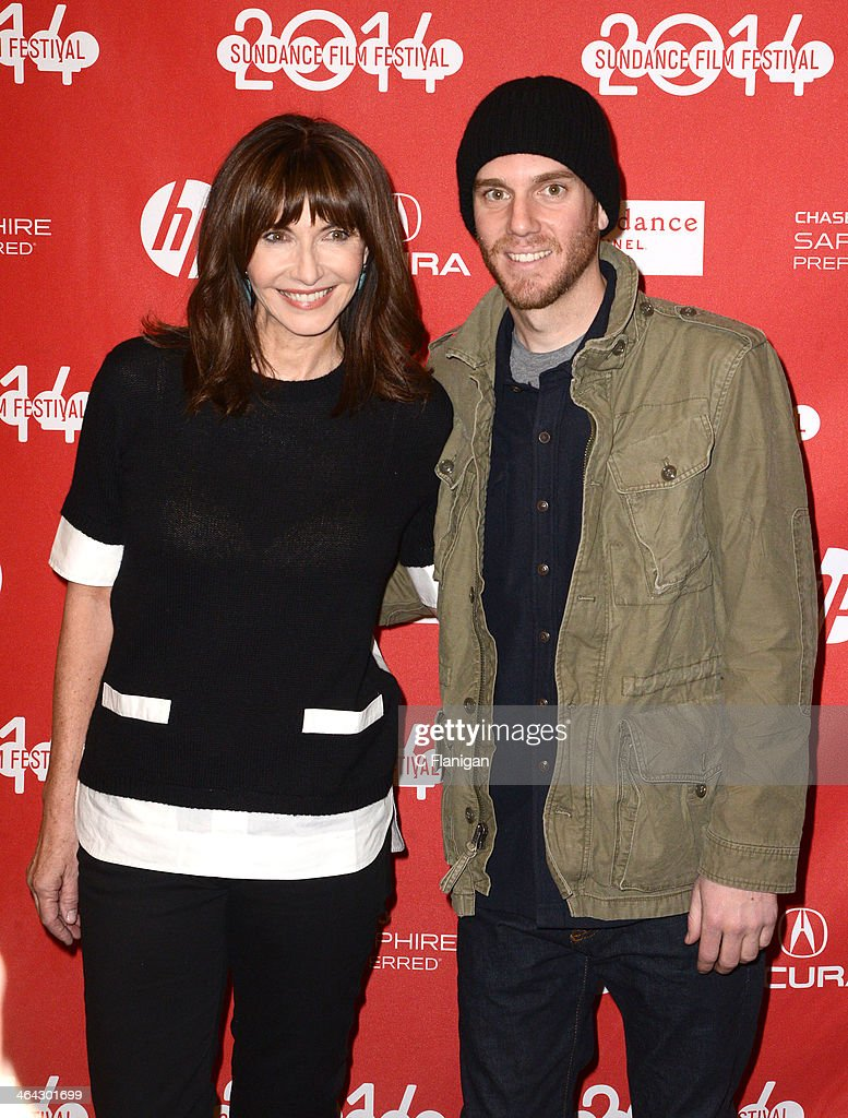 Actress <a gi-track='captionPersonalityLinkClicked' href=/galleries/search?phrase=Mary+Steenburgen&family=editorial&specificpeople=209210 ng-click='$event.stopPropagation()'>Mary Steenburgen</a> and son writer/director Charlie McDowell attend the premiere of 'Song One' at the Eccles Center Theatre during the 2014 Sundance Film Festival on January 20, 2014 in Park City, Utah.