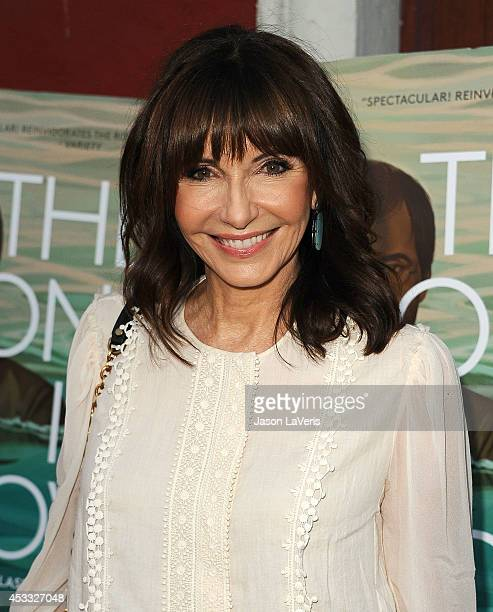 Actress Mary Steenburgen attends the premiere of 'The One I Love' at the Vista Theatre on August 7 2014 in Los Angeles California