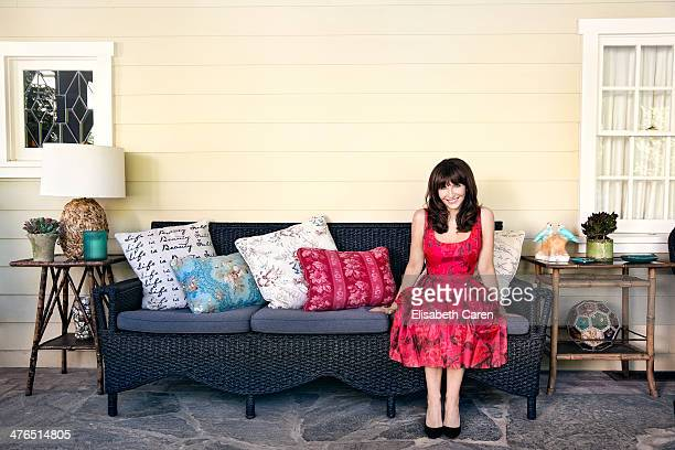Actress Mary Steenburgen is photographed for Los Angeles Confidential on October 8 2013 in Los Angeles California
