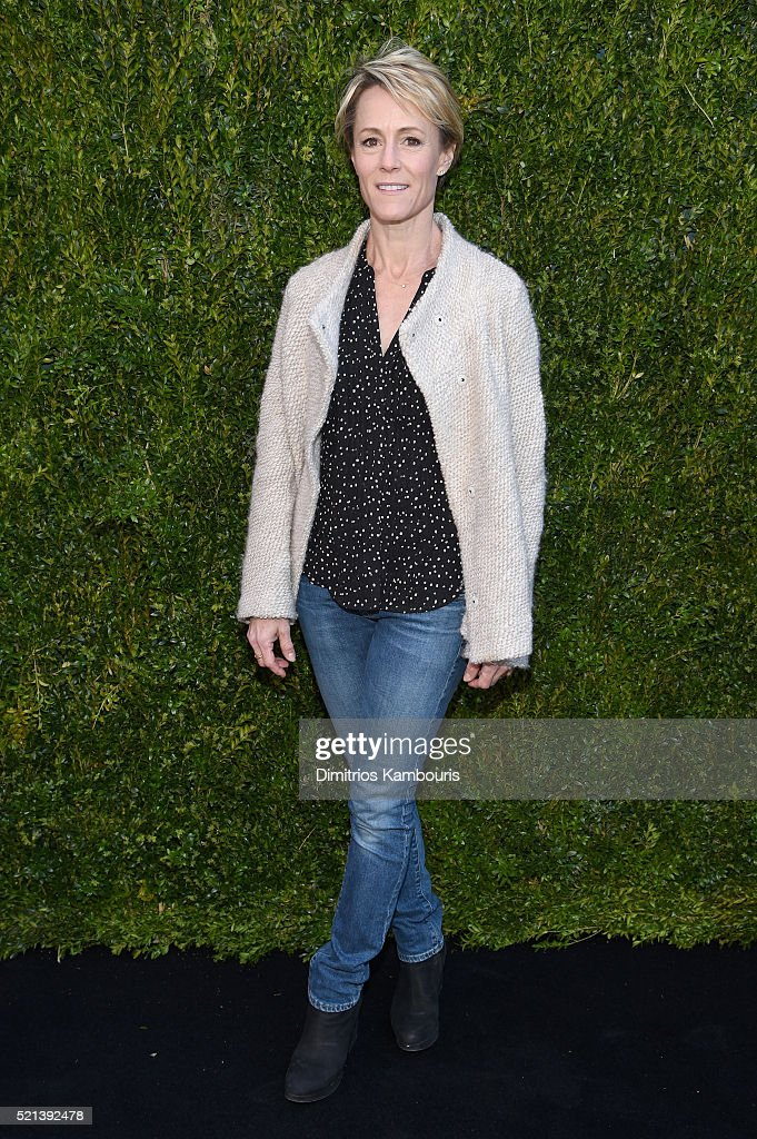 Actress Mary Stuart Masterson attends CHANEL Tribeca Film Festival Women's Filmmaker Luncheon on April 15, 2016 in New York City.
