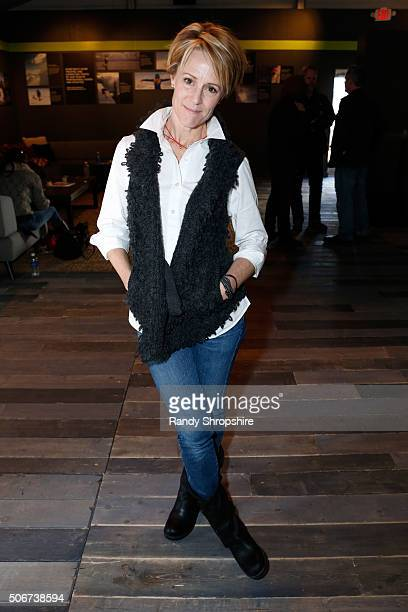Actress Mary Stuart Masterson attends the Getty Images Portrait Studio Lounge hosted by Eddie Bauer during the 2016 Sundance Film Festival at Village...