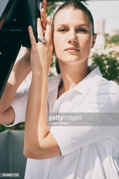 Actress Maryana Spivak is photographed for Self Assignment on May 18 2017 in Cannes France