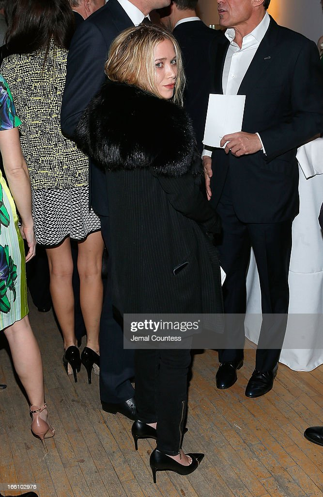 Actress Mary-Kate Olsen attends the 2013 Tribeca Ball at New York Academy of Art on April 8, 2013 in New York City.