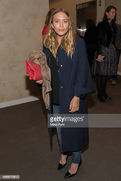 Actress MaryKate Olsen attends the 2014 Take Home A Nude Event at Sotheby's on October 9 2014 in New York City