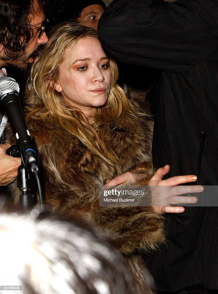 Actress Mary-Kate Olsen attends the Belvedere IX Launch Party at The Bowery Hotel on February 12, 2009 in New York City.