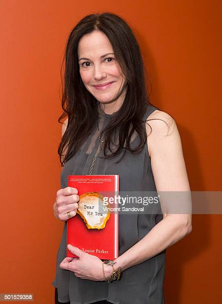 Actress MaryLouise Parker attends Live Talks LA Presents An Evening With MaryLouise Parker at Moss Theatre at New Roads School on December 15 2015 in...