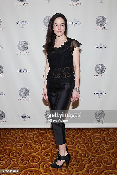 Actress MaryLouise Parker attends The Lapham's Quarterly Decades Ball The 1780s at Gotham Hall on June 1 2015 in New York City