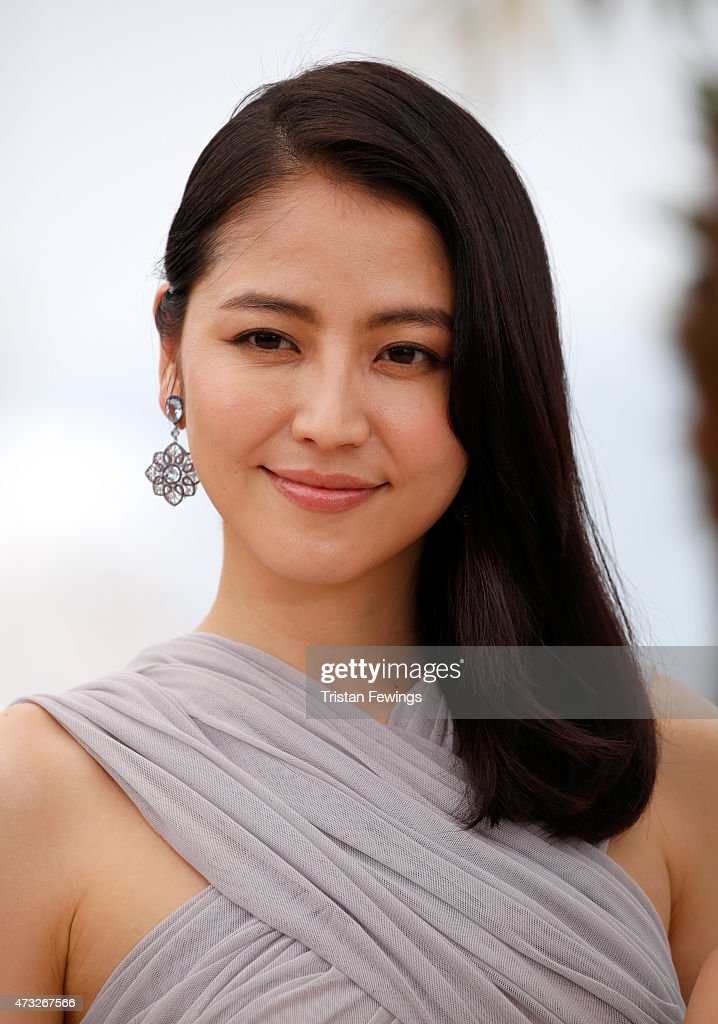 Actress Masami Nagasawa attends a photocall for 'Umimachi Diary' ('Our Little Sister') during the 68th annual Cannes Film Festival on May 14, 2015 in Cannes, France.