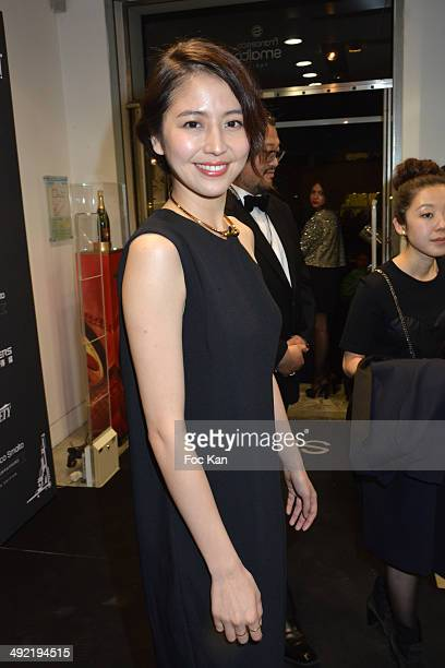 Actress Masami Nagasawa attends 'The Observatoire Smalto Day 5 Variety Cocktail The 67th Annual Cannes Film Festival on May 18 2014 in Cannes France