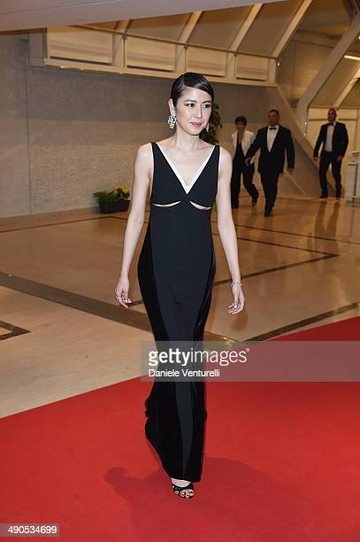 Actress Masami Nagasawa attends the Opening Ceremony Dinner at the 67th Annual Cannes Film Festival on May 14 2014 in Cannes France
