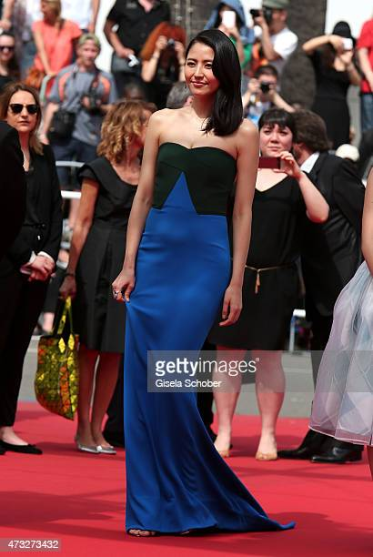 Actress Masami Nagasawa attends the Premiere of 'Umimachi Diary' during the 68th annual Cannes Film Festival on May 14 2015 in Cannes France