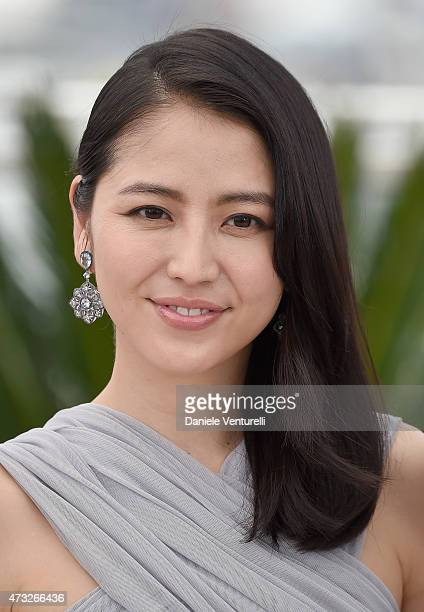 Actress Masami Nagasawa attends the 'Umimachi Diary' photocall during the 68th annual Cannes Film Festival on May 14 2015 in Cannes France