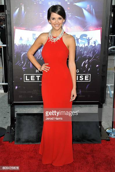 Actress Masey McClain arrives at the Premiere Of Pure Flix Entertainment's 'Hillsong Let Hope Rise' at Mann Village Theatre on September 13 2016 in...
