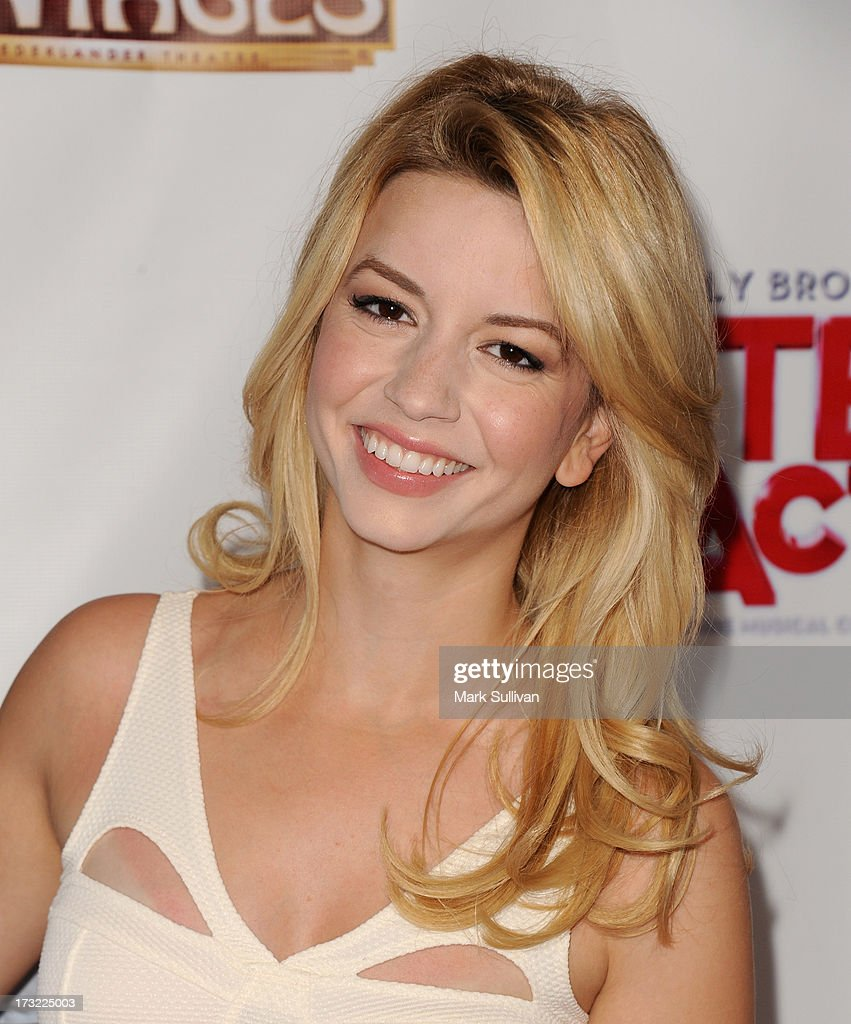 Actress <a gi-track='captionPersonalityLinkClicked' href=/galleries/search?phrase=Masiela+Lusha&family=editorial&specificpeople=213392 ng-click='$event.stopPropagation()'>Masiela Lusha</a> attends the premiere of 'Sister Act' at the Pantages Theatre on July 9, 2013 in Hollywood, California.