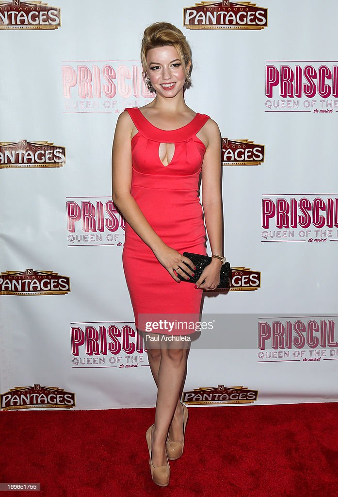 Actress Masiela Lusha attends the 'Priscilla Queen Of The Desert' theatre premiere at the Pantages Theatre on May 29, 2013 in Hollywood, California.