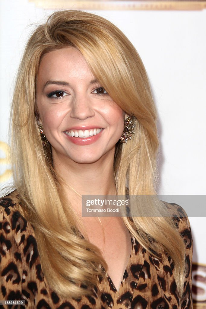 Actress <a gi-track='captionPersonalityLinkClicked' href=/galleries/search?phrase=Masiela+Lusha&family=editorial&specificpeople=213392 ng-click='$event.stopPropagation()'>Masiela Lusha</a> attends the 'War Horse' Los Angeles opening night held at the Pantages Theatre on October 8, 2013 in Hollywood, California.