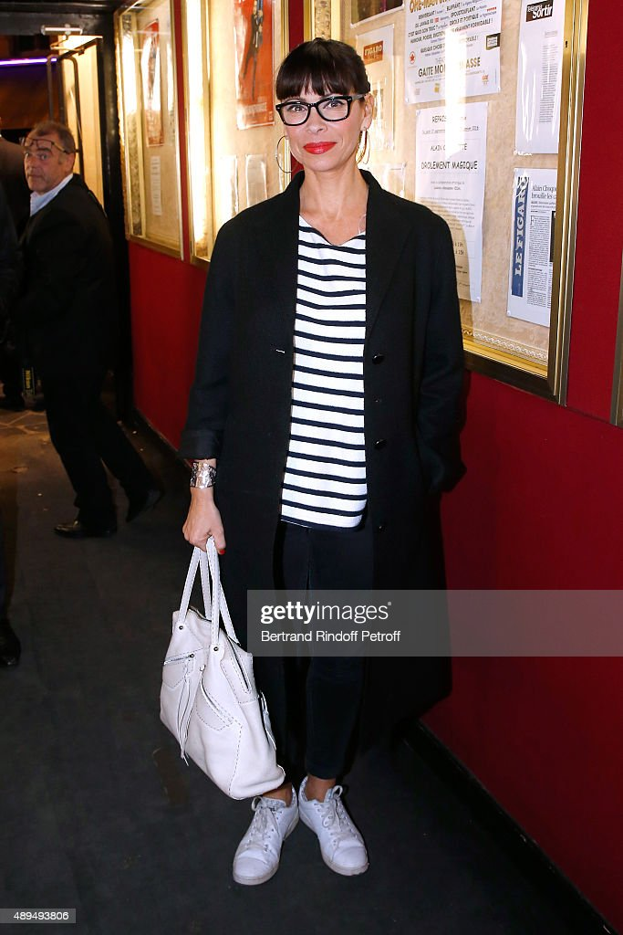 Actress Mathilda May attends the 'Trophees du Bien-Etre' by Beautysane : First Award Ceremony to Benefit 'Mimi Foundation'. Held at Theatre de la Gaite-Montparnasse on September 21, 2015 in Paris, France.