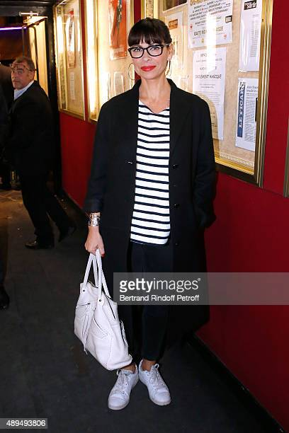 Actress Mathilda May attends the 'Trophees du BienEtre' by Beautysane First Award Ceremony to Benefit 'Mimi Foundation' Held at Theatre de la...