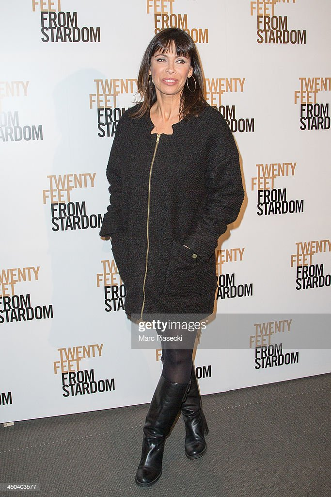 Actress <a gi-track='captionPersonalityLinkClicked' href=/galleries/search?phrase=Mathilda+May&family=editorial&specificpeople=688986 ng-click='$event.stopPropagation()'>Mathilda May</a> attends the 'Twenty feet from stardom' Paris premiere at Cinema UGC Normandie on November 18, 2013 in Paris, France.