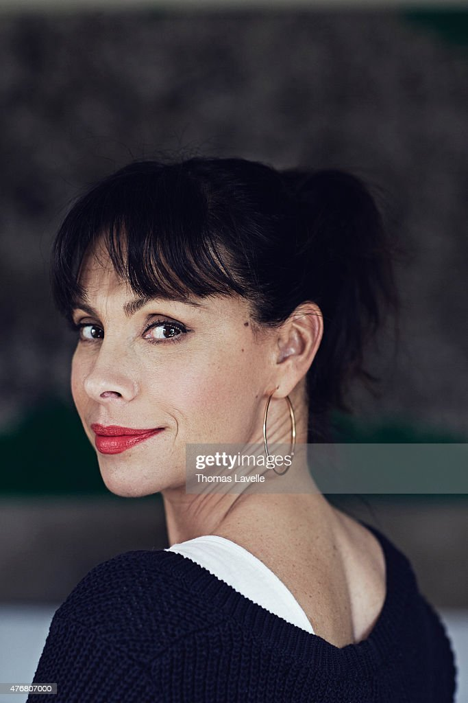 Actress Mathilda May is photographed for Gala on April 17, 2015 in Paris, France.