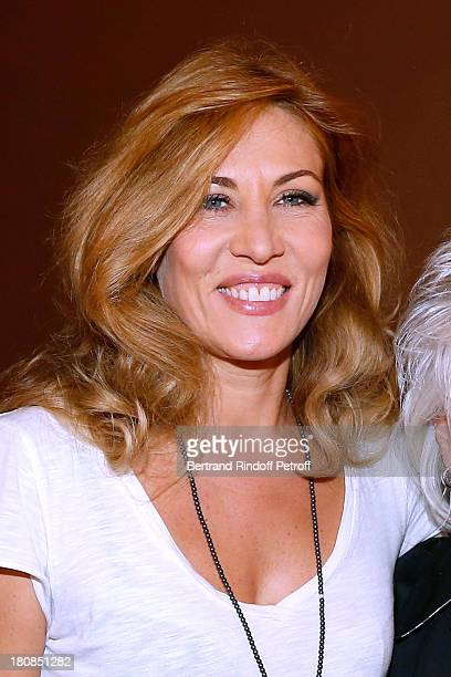 Actress Mathilde Seigner after 'Nina' Premiere at Theatre Edouard VII on September 16 2013 in Paris France