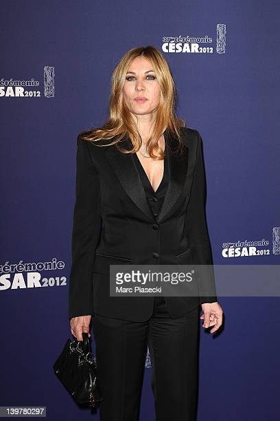Actress Mathilde Seigner attends the 37th Cesar Film Awards at Theatre du Chatelet on February 24 2012 in Paris France