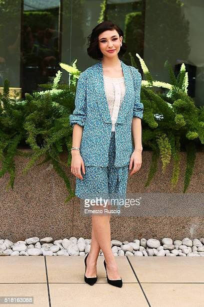 Actress Matilda De Angelis attends the 'Veloce Come Il Vento' photocall at Hotel Visconti on March 30 2016 in Rome Italy