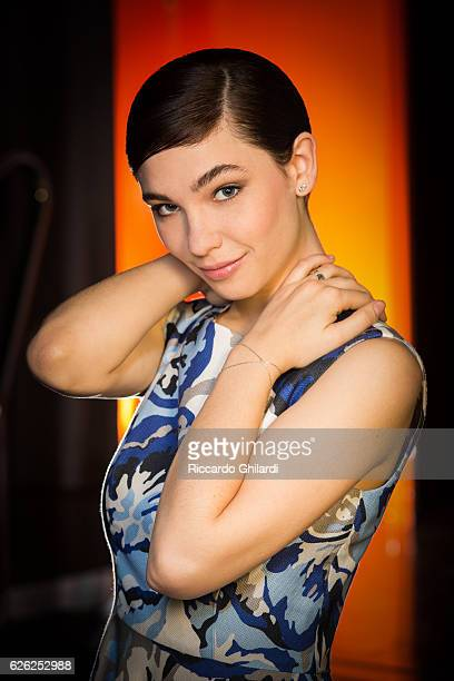 Actress Matilda De Angelis is photographed for Self Assignment on April 5 2016 in Rome Italy