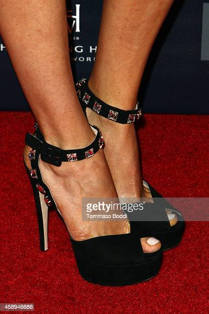 Actress Matilda Lutz attends the American Cinematheque Film Series Cinema Italian Style opening night gala held at the Egyptian Theatre on November...