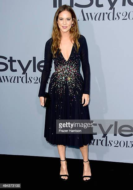 Actress Matilda Lutz attends the InStyle Awards at Getty Center on October 26 2015 in Los Angeles California