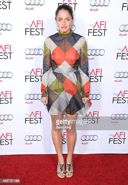 Actress Matilde Gioli arrives at AFI FEST 2014 Presented By Audi A Special Tribute To Sophia Loren at Dolby Theatre on November 12 2014 in Hollywood...