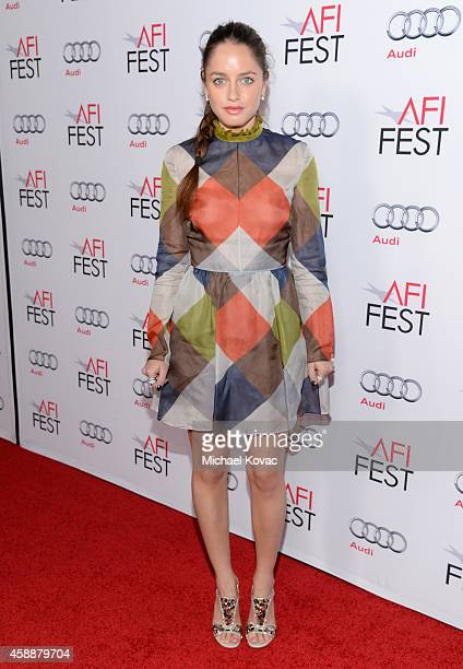 Actress Matilde Gioli attends the special tribute to Sophia Loren during the AFI FEST 2014 presented by Audi at Dolby Theatre on November 12 2014 in...