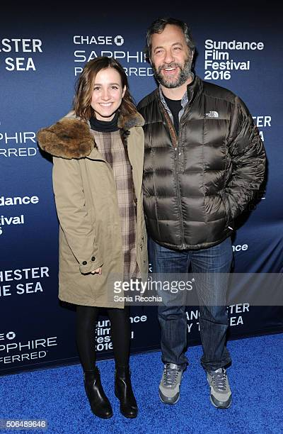 Actress Maude Apatow and producer Judd Apatow attend the Official Premiere Party for 'Manchester By The Sea' hosted by Chase Sapphire Preferred at...