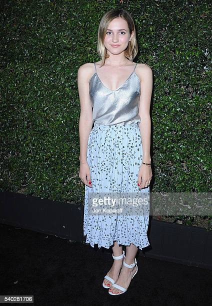 Actress Maude Apatow arrives at Max Mara Celebrates Natalie DormerThe 2016 Women In Film Max Mara Face Of The Future at Chateau Marmont on June 14...