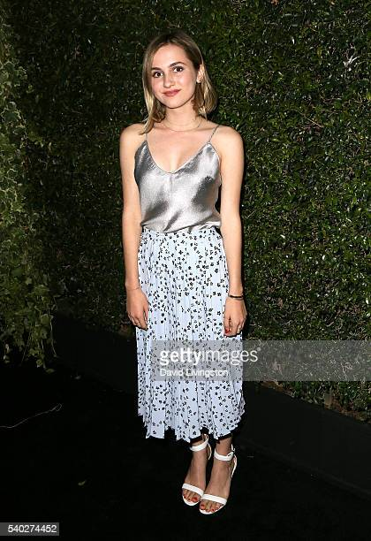 Actress Maude Apatow attends the 2016 Women In Film Max Mara Face of the Future celebrating Natalie Dormer at Chateau Marmont on June 14 2016 in Los...
