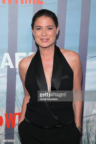 Actress Maura Tierney attends 'The Affair' New York series premiere on October 6 2014 in New York City