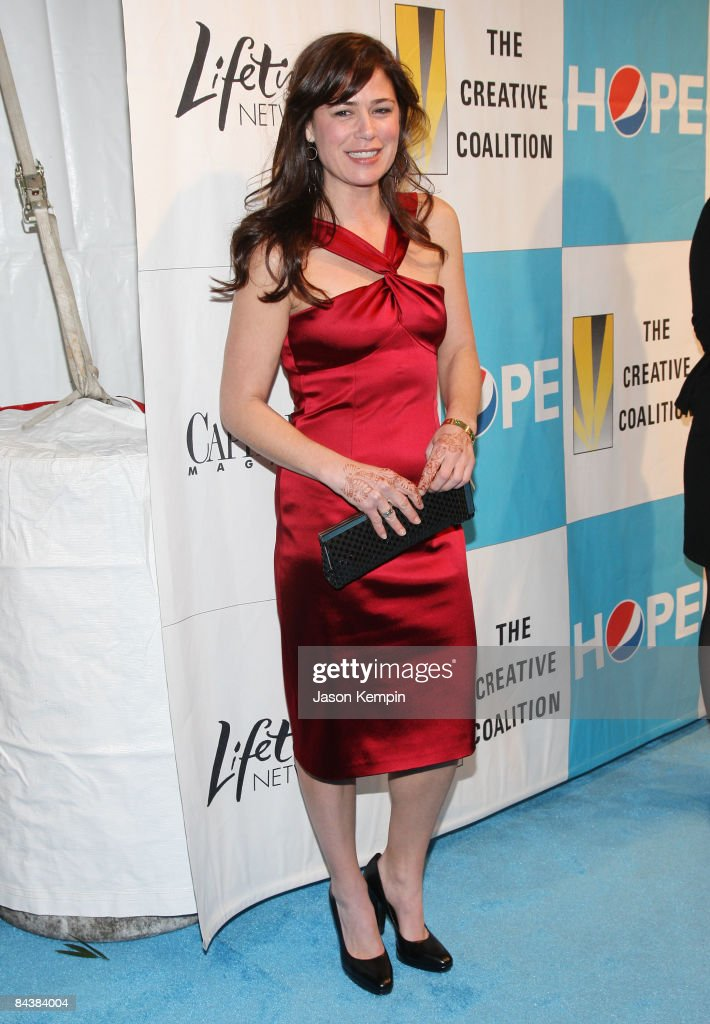 Actress Maura Tierney attends the Creative Coalition's 2009 Inaugural Ball at the Harman Center for the Arts on January 20 2009 in Washington DC