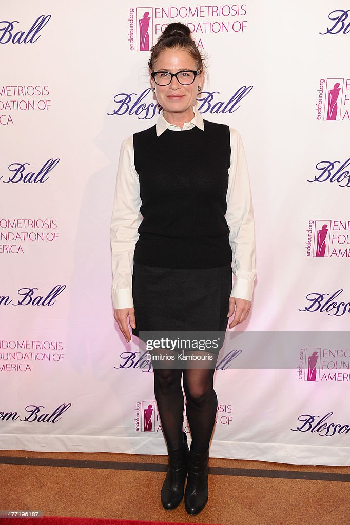 Actress <a gi-track='captionPersonalityLinkClicked' href=/galleries/search?phrase=Maura+Tierney&family=editorial&specificpeople=228416 ng-click='$event.stopPropagation()'>Maura Tierney</a> attends the Endometriosis Foundation of America's 6th annual Blossom Ball hosted by Padma Lakshmi and Tamer Seckin, MD at 583 Park Avenue on March 7, 2014 in New York City.