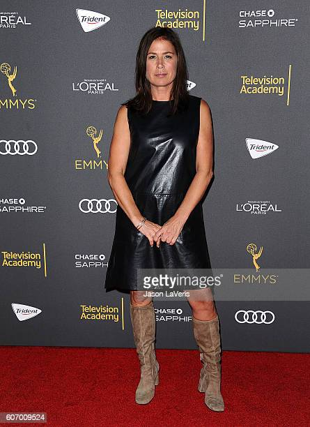 Actress Maura Tierney attends the Television Academy reception for Emmy nominated performers at Pacific Design Center on September 16 2016 in West...