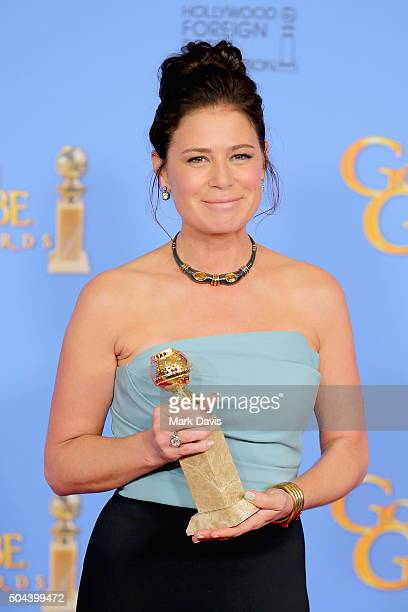 Actress Maura Tierney winner of Best Performance by an Actress in a Supporting Role in a Series Limited Series or Motion Picture Made for Television...