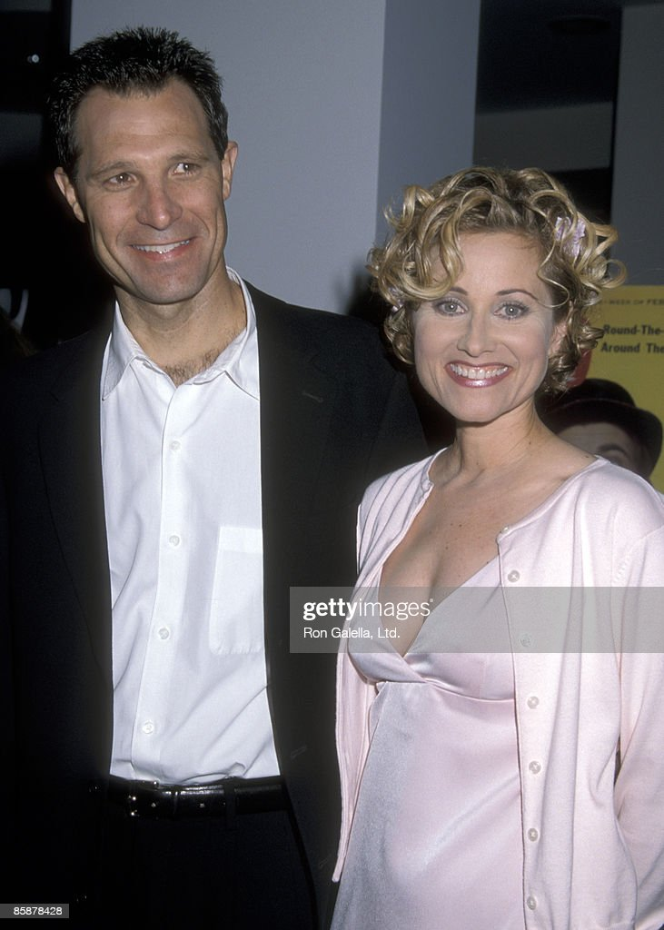 Actress Maureen McCormick and husband Michael Cummings attend the 'A Television Diar: 45 Years of TV Guide Covers' Museum Exhibition on September 15, 1998 at the Museum of Television and Radio in Beverly Hills, California.