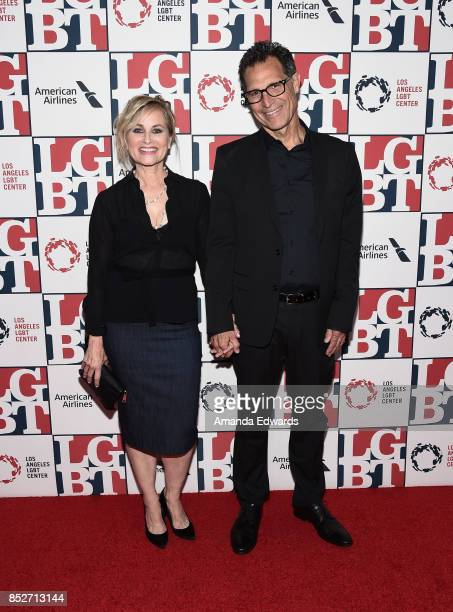 Actress Maureen McCormick and Michael Cummings arrive at the Los Angeles LGBT Center's 48th Anniversary Gala Vanguard Awards at The Beverly Hilton...