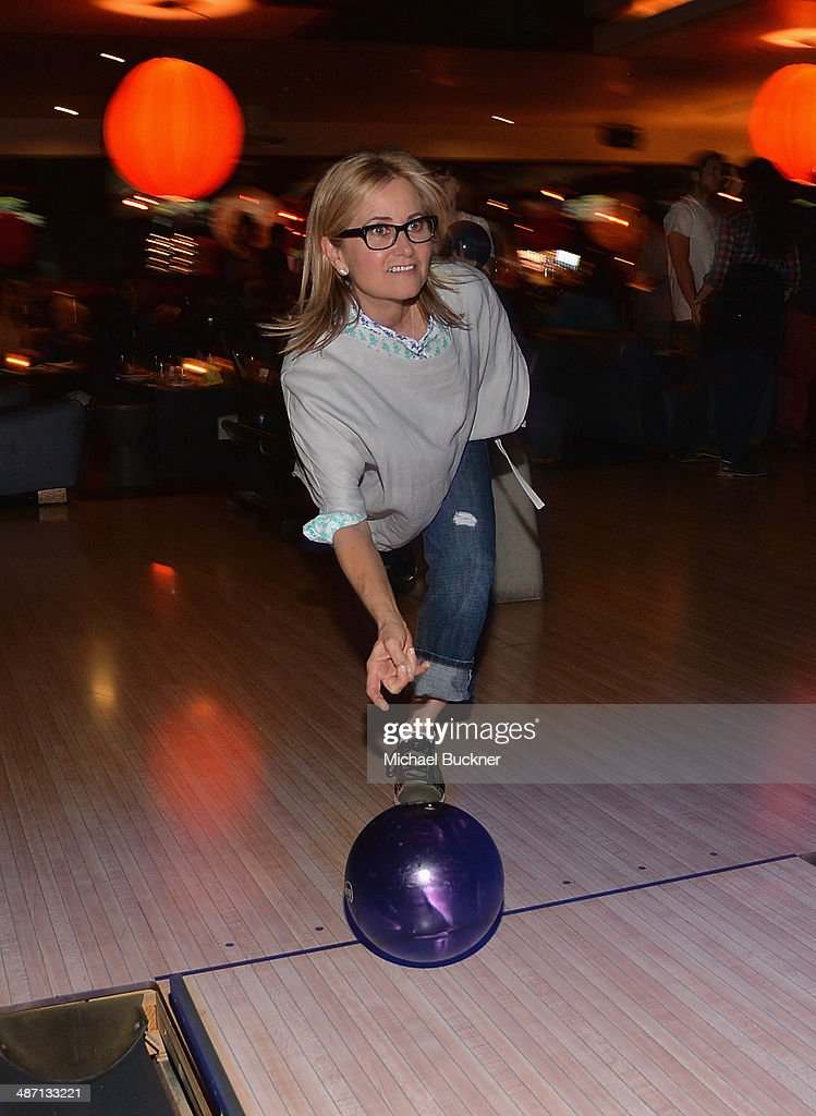 Actress <a gi-track='captionPersonalityLinkClicked' href=/galleries/search?phrase=Maureen+McCormick&family=editorial&specificpeople=893152 ng-click='$event.stopPropagation()'>Maureen McCormick</a> attends Audi Best Buddies' Bowling For Buddies at Lucky Strike Lanes at L.A. Live on April 27, 2014 in Los Angeles, California.