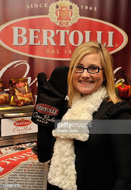 Actress Maureen McCormick attends the Bertolli Oven Bake Meals at the Access Hollywood 'Stuff You Must' Lounge produced by On 3 Productions...