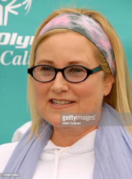 Actress Maureen McCormick attends the Special Olympics Southern California Celebrity Bocce Tournament at The Culver Studios on March 29 2009 in...
