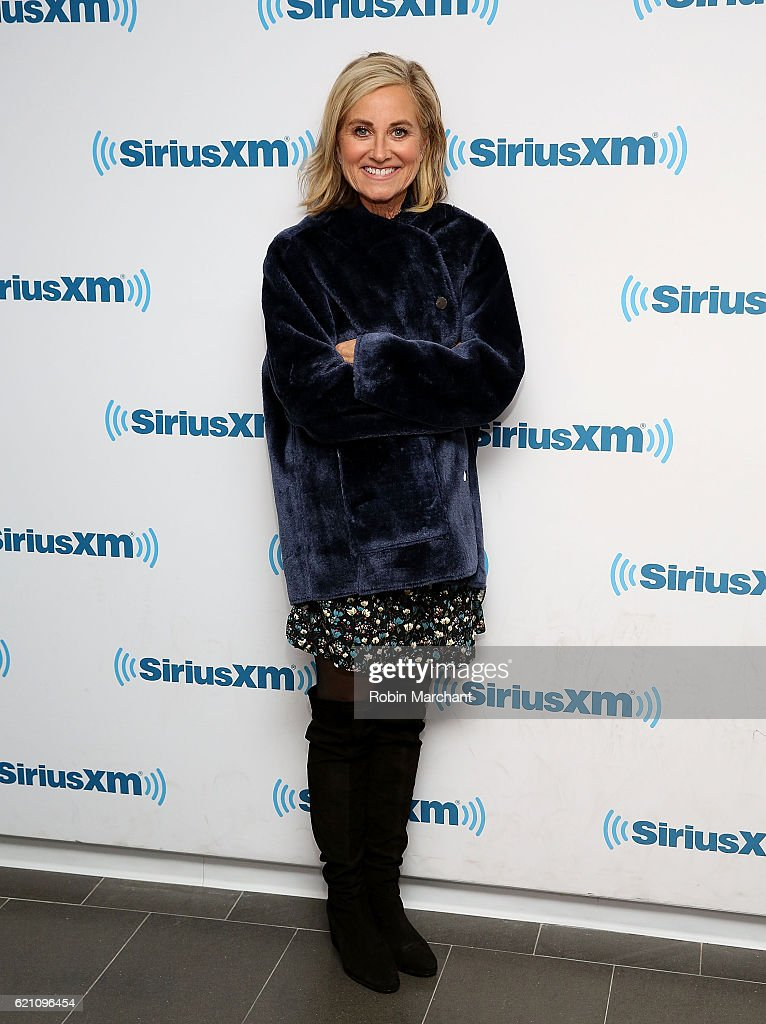 Actress Maureen McCormick visits at SiriusXM Studio on November 4, 2016 in New York City.