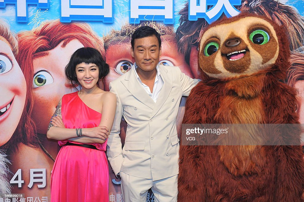 'The Croods' - Press Conference
