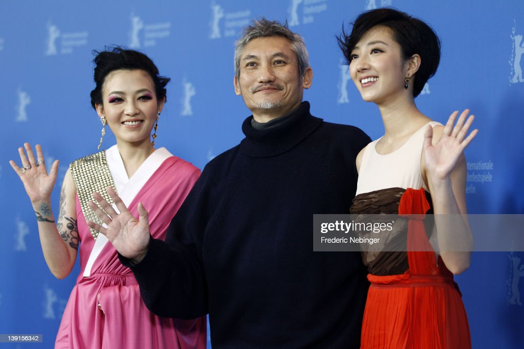 Actress Mavis Fan, director Hark Tsui and actress Kwai Lun Mei attend the 'Flying Swords Of Dragon Gate' Photocall during day nine of the 62nd Berlin International Film Festival at the Grand Hyatt on February 17, 2012 in Berlin, Germany.